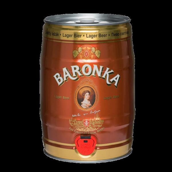 zatec baronka premium partyfass